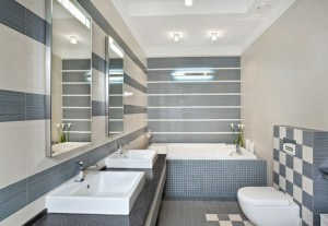 other-design-fabulous-lond-square-bathroom-mirrors-and-two-white-unique-bowl-sink-on-grey-tiled-tops-vanity-panels-as-well-as-great-ceiling-bathroom-lights-over-white-tubs-and-toilet-inspirng-modern-b-945x655