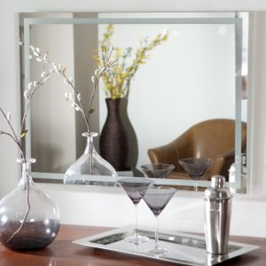 other-design-scenic-square-wall-mounted-bathroom-mirrors-and-sweet-wine-glass-and-stainless-bottle-and-chrome-tray-on-wooden-table-vanities-as-well-as-cute-black-flowers-vase-in-white-bathroom-decor-i-945x944