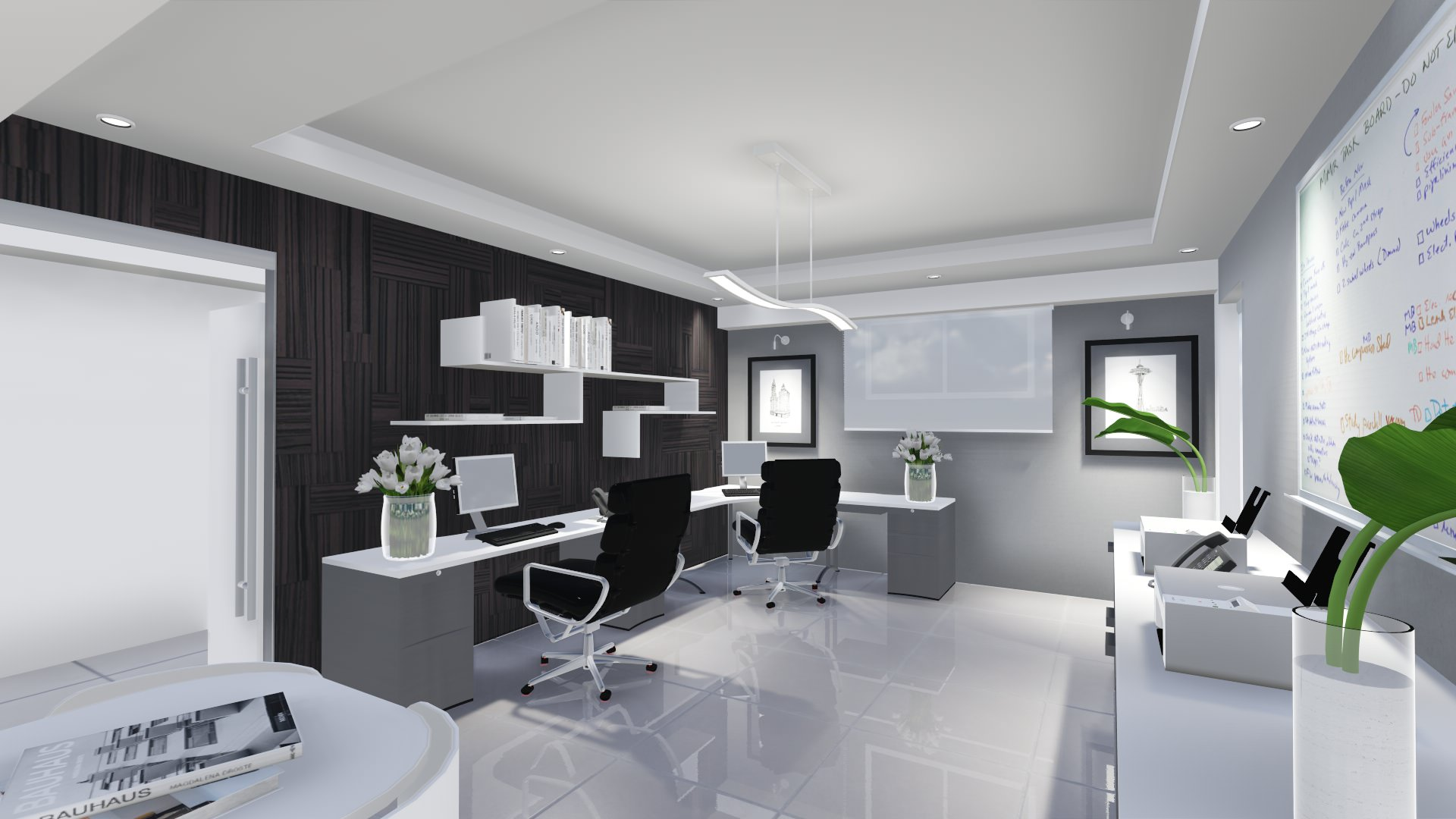 Proyecto oficina alco inmobiliaria neuarq for Proyecto oficina